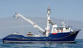 Equipamiento de cubierta y sistema hidráulico del Cabo Verde