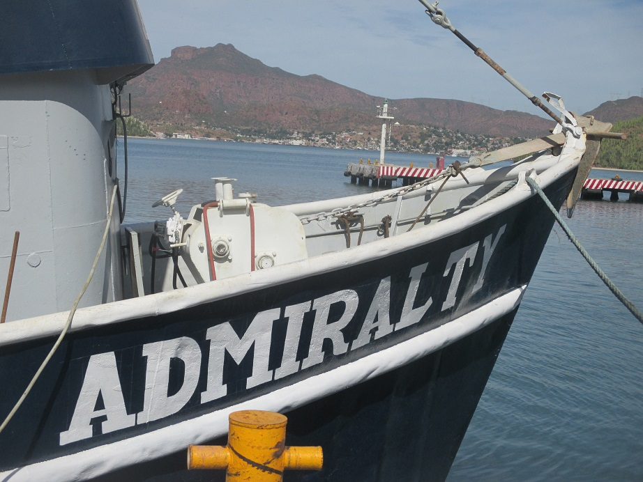 The Admiralty goes back to sea