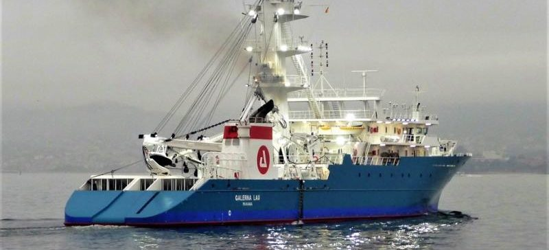 Albacora Group´s Galerna Lau vessel ready to catch tuna