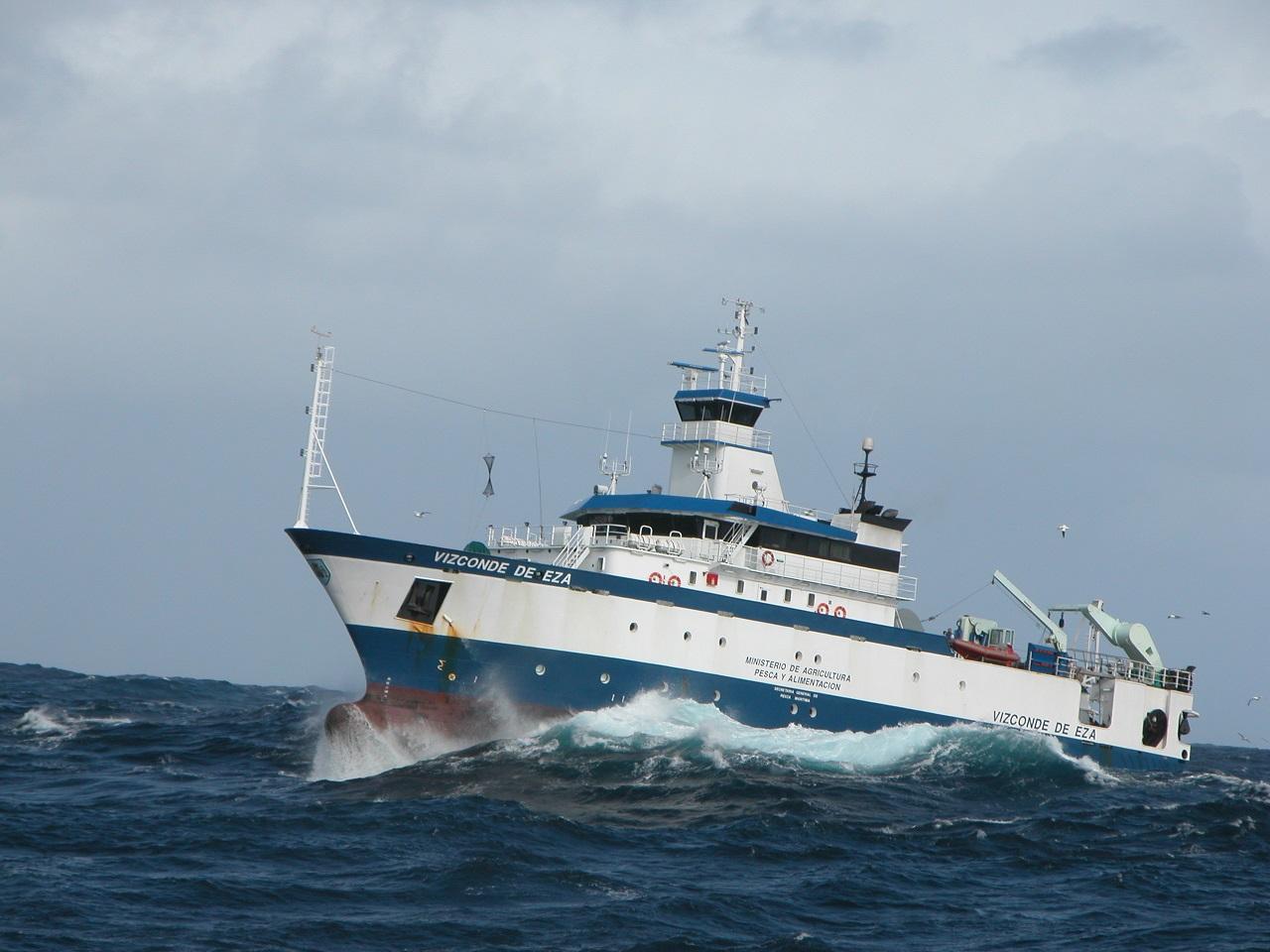 TH COMPANY lleva a cabo la reparación del buqe oceanográfico de la Secretaría General de Pesca