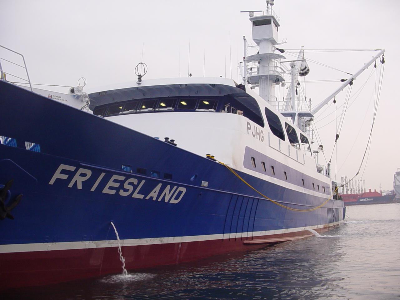 Primer atunero equipado por TH Marco en Asia (Friesland)