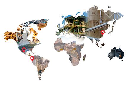 Nuevas sedes internacionales