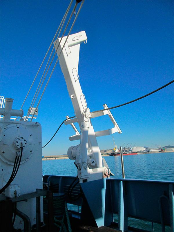 Pescante de Botes