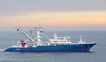 Equipamiento de cubierta y sistema hidráulico del Galerna III