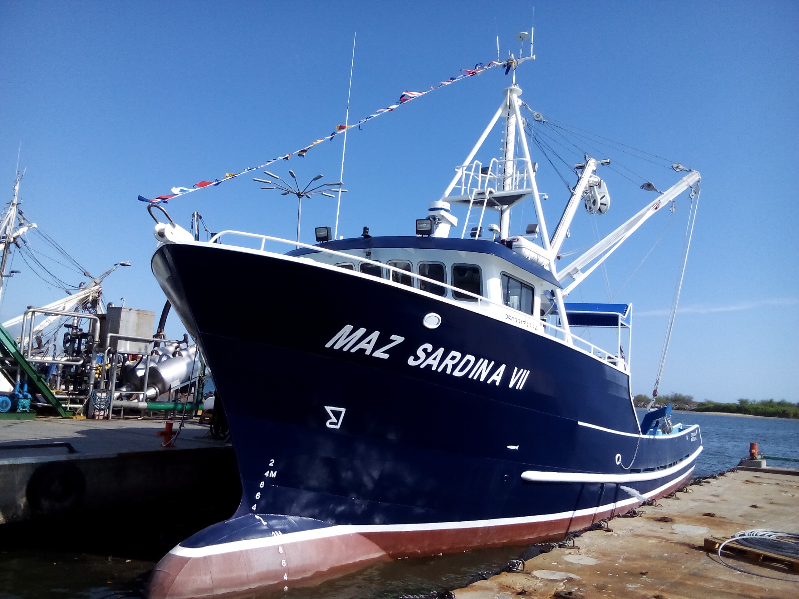 First Sardine vessel project in Mexico