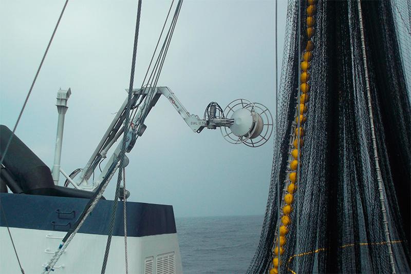 Corkline and net stacker
