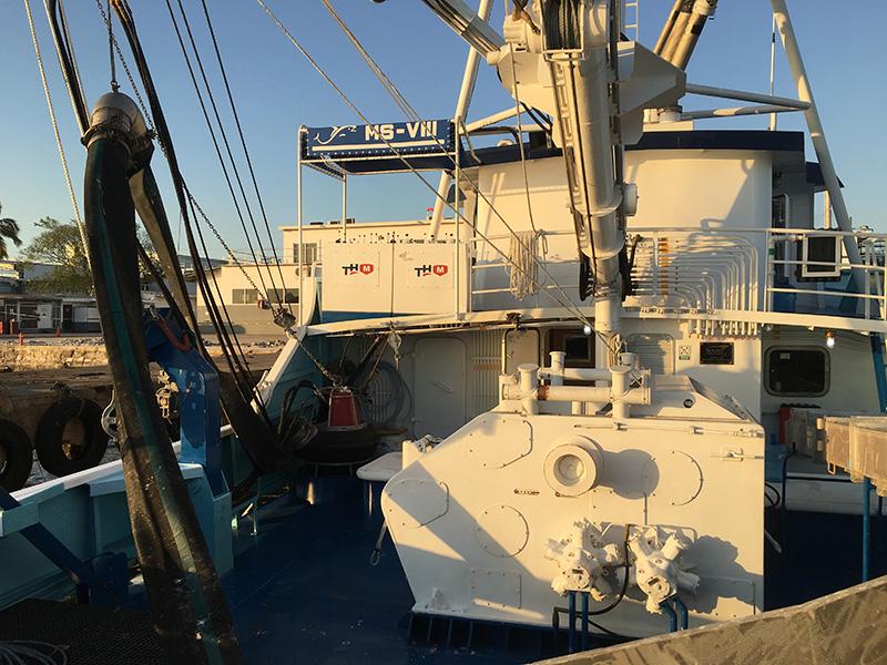 Purse Seine Winches for sardine vessels